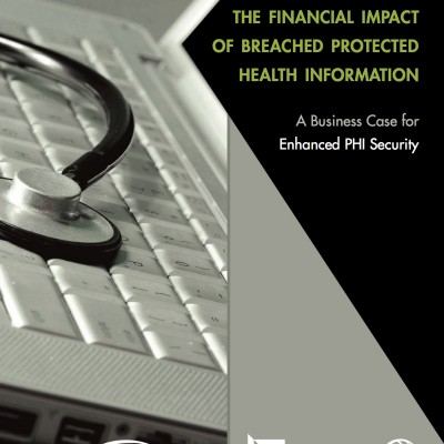 The Financial Impact of Breached Protected Health Information